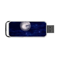 Moon and Stars Portable USB Flash (Two Sides)