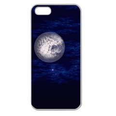 Moon And Stars Apple Seamless Iphone 5 Case (clear)