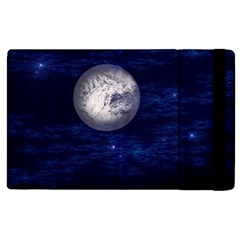 Moon and Stars Apple iPad 2 Flip Case
