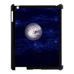 Moon And Stars Apple Ipad 3/4 Case (black)