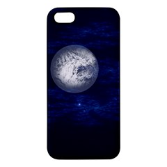 Moon And Stars Apple Iphone 5 Premium Hardshell Case