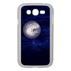 Moon And Stars Samsung Galaxy Grand Duos I9082 Case (white)