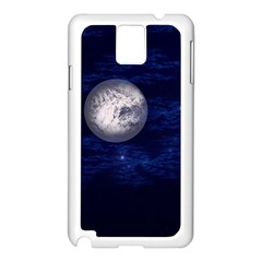 Moon And Stars Samsung Galaxy Note 3 N9005 Case (white)