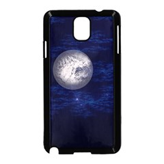 Moon And Stars Samsung Galaxy Note 3 Neo Hardshell Case (black)