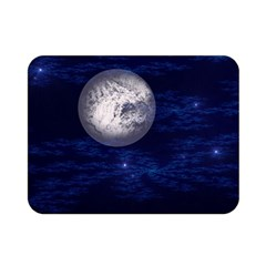 Moon And Stars Double Sided Flano Blanket (mini)
