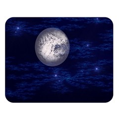 Moon and Stars Double Sided Flano Blanket (Large)