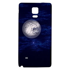 Moon And Stars Galaxy Note 4 Back Case