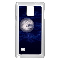 Moon And Stars Samsung Galaxy Note 4 Case (white)