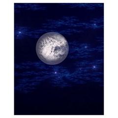 Moon and Stars Drawstring Bag (Small)