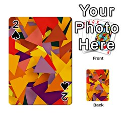 Geo Fun 8 Colorful Playing Cards 54 Designs