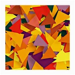 Geo Fun 8 Colorful Medium Glasses Cloth