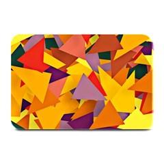 Geo Fun 8 Colorful Plate Mats