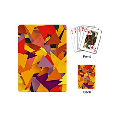Geo Fun 8 Colorful Playing Cards (Mini)