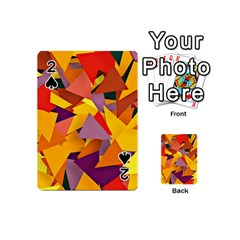 Geo Fun 8 Colorful Playing Cards 54 (Mini)