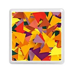 Geo Fun 8 Colorful Memory Card Reader (Square)