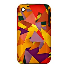 Geo Fun 8 Colorful Apple iPhone 3G/3GS Hardshell Case (PC+Silicone)