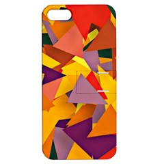 Geo Fun 8 Colorful Apple iPhone 5 Hardshell Case with Stand