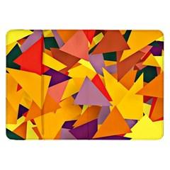 Geo Fun 8 Colorful Samsung Galaxy Tab 8.9  P7300 Flip Case