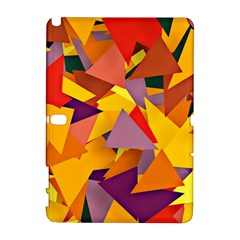 Geo Fun 8 Colorful Samsung Galaxy Note 10.1 (P600) Hardshell Case