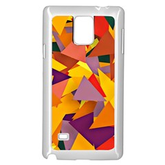 Geo Fun 8 Colorful Samsung Galaxy Note 4 Case (white)