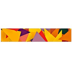 Geo Fun 8 Colorful Flano Scarf (large)