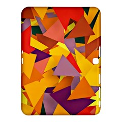 Geo Fun 8 Colorful Samsung Galaxy Tab 4 (10.1 ) Hardshell Case