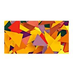 Geo Fun 8 Colorful Satin Wrap