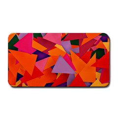 Geo Fun 8 Hot Colors Medium Bar Mats