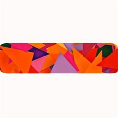 Geo Fun 8 Hot Colors Large Bar Mats