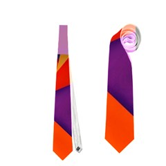 Geo Fun 8 Hot Colors Neckties (two Side)