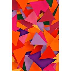 Geo Fun 8 Hot Colors 5.5  x 8.5  Notebooks
