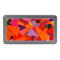 Geo Fun 8 Hot Colors Memory Card Reader (mini)