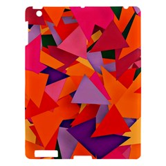 Geo Fun 8 Hot Colors Apple iPad 3/4 Hardshell Case