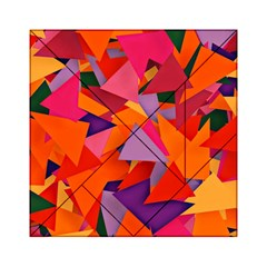 Geo Fun 8 Hot Colors Acrylic Tangram Puzzle (6  x 6 )