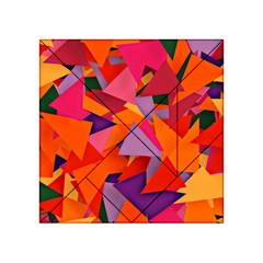Geo Fun 8 Hot Colors Acrylic Tangram Puzzle (4  X 4 )
