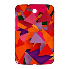 Geo Fun 8 Hot Colors Samsung Galaxy Note 8.0 N5100 Hardshell Case