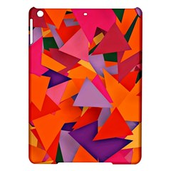 Geo Fun 8 Hot Colors iPad Air Hardshell Cases