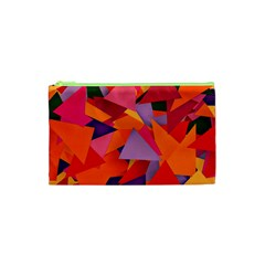Geo Fun 8 Hot Colors Cosmetic Bag (xs)