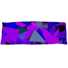 Geo Fun 8 Inky Blue Body Pillow Cases Dakimakura (Two Sides)