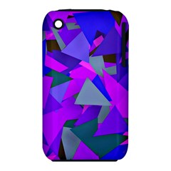 Geo Fun 8 Inky Blue Apple iPhone 3G/3GS Hardshell Case (PC+Silicone)
