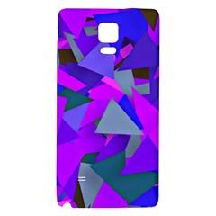 Geo Fun 8 Inky Blue Galaxy Note 4 Back Case