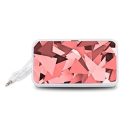Geo Fun 8 Peach Portable Speaker (white)