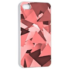 Geo Fun 8 Peach Apple Iphone 4/4s Seamless Case (white)