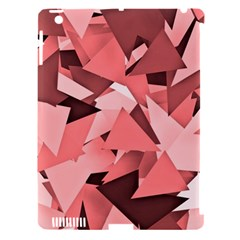 Geo Fun 8 Peach Apple iPad 3/4 Hardshell Case (Compatible with Smart Cover)