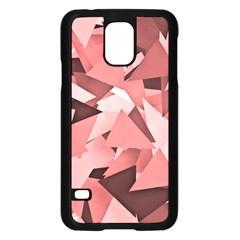 Geo Fun 8 Peach Samsung Galaxy S5 Case (black)