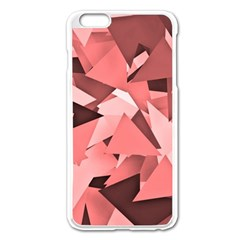 Geo Fun 8 Peach Apple Iphone 6 Plus Enamel White Case