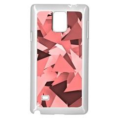 Geo Fun 8 Peach Samsung Galaxy Note 4 Case (White)