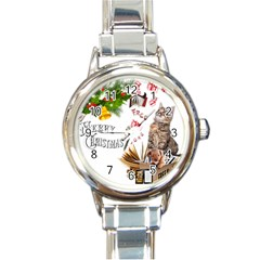 Free books for Christmas Round Italian Charm Watches