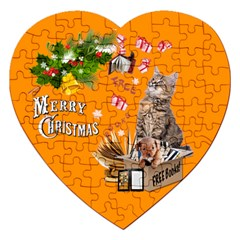 Free books for Christmas Jigsaw Puzzle (Heart)