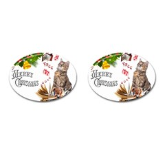 Free books for Christmas Cufflinks (Oval)